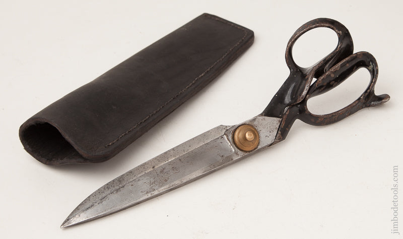 12 1/4 inch WISS Tailor's Shears with Leather Sheath - 72395