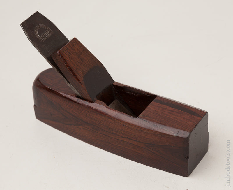 Crisp and Fine! Rosewood Smooth Plane - 72489U
