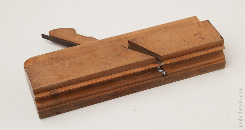 1 1/2 inch Molding Plane by RANDALL & COOK ALBANY NY CIRCA 1835-40 EXTRA FINE - 72610R