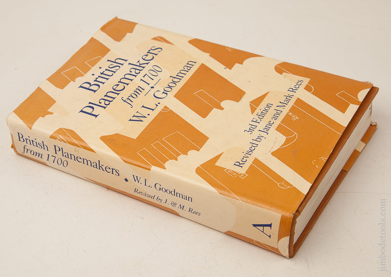 Book:  BRITISH PLANEMAKERS FROM 1700 by W.L. Goodman 3rd Edition - 72644