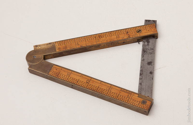Fine CHAPIN STEPHENS & CO. Number 036 Combination Rule/Level/Bevel - 72674