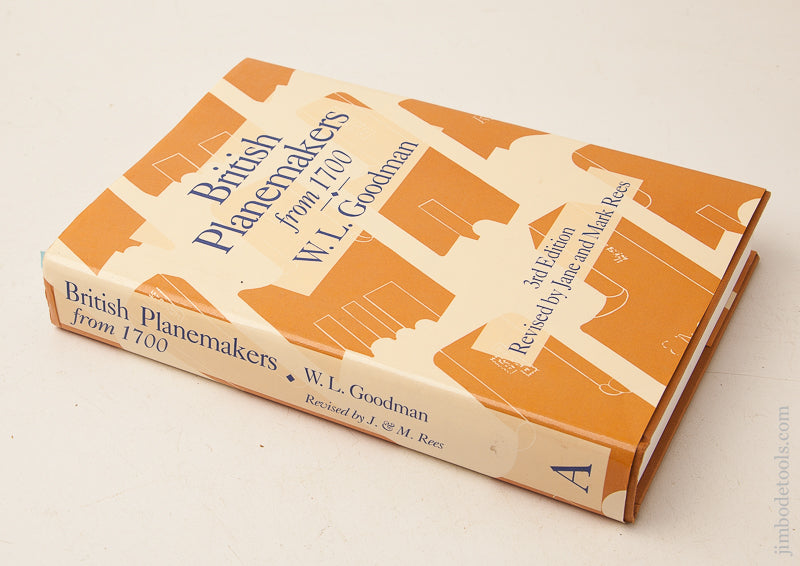 Book:  BRITISH PLANEMAKERS FROM 1700 by W.L. Goodman 3rd Edition - 73094
