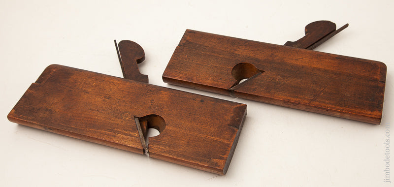 Side Round Moulding Planes by W.I. WALKER YORK circa 1818-67 EXTRA FINE -- 73768