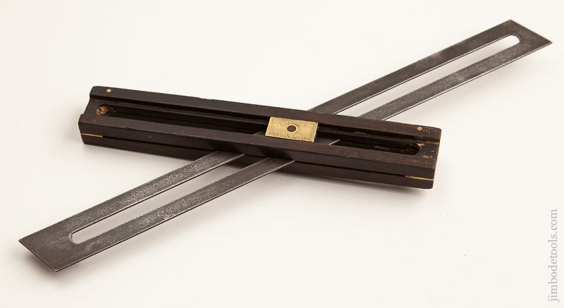 Unusual 12 inch Ebony Bevel - 73950