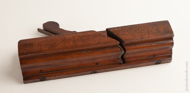 18th Century R. DOWNES 2 1/4 inch Beech Molding Plane - 75779R