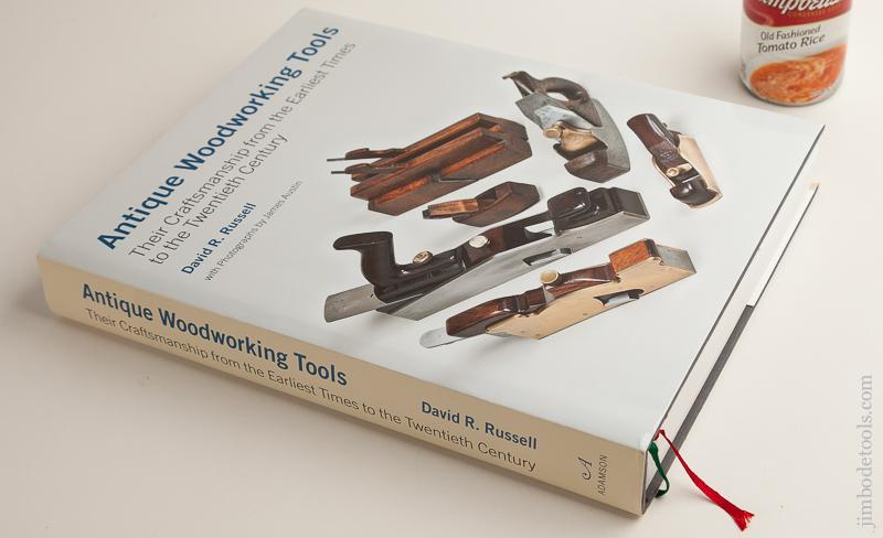 Book Antique Woodworking Tools Their Craftsmanship From The Earliest Times To The Twentieth Century By David R Russell New 75939r