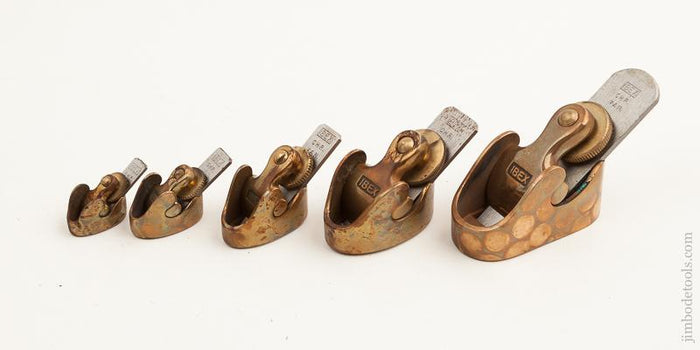 UNUSED Set of Five IBEX Violin Planes in Original Wrappers - 74500