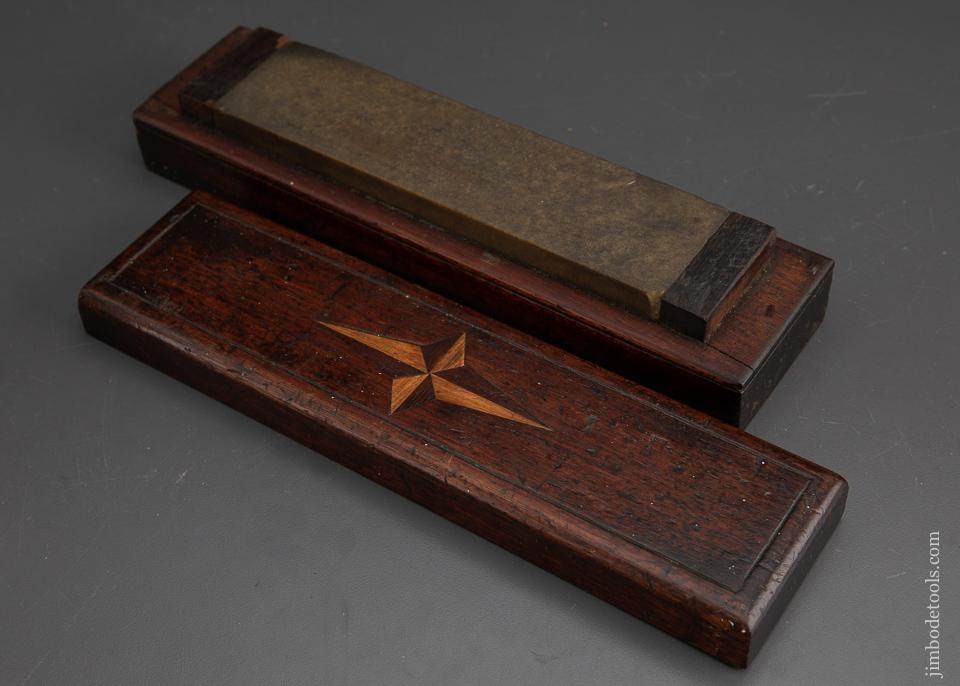 Lovely Eleven inch Honing Stone Box with Inlay - EXCALIBUR 75