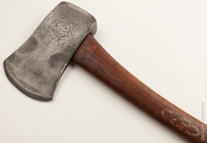 AUTOGRAF PLUMB ANCHOR Axe with Partial Label Embossed with Phantom Bevels - 76039