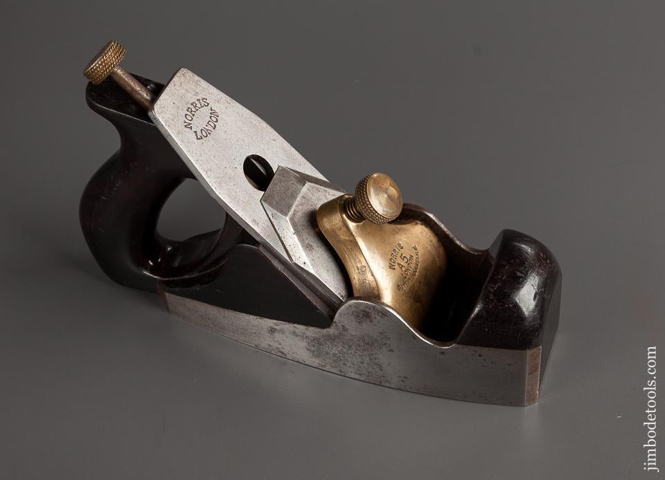 Fabulous! Pre-War Dovetailed NORRIS A5 Smooth Plane - 76079U