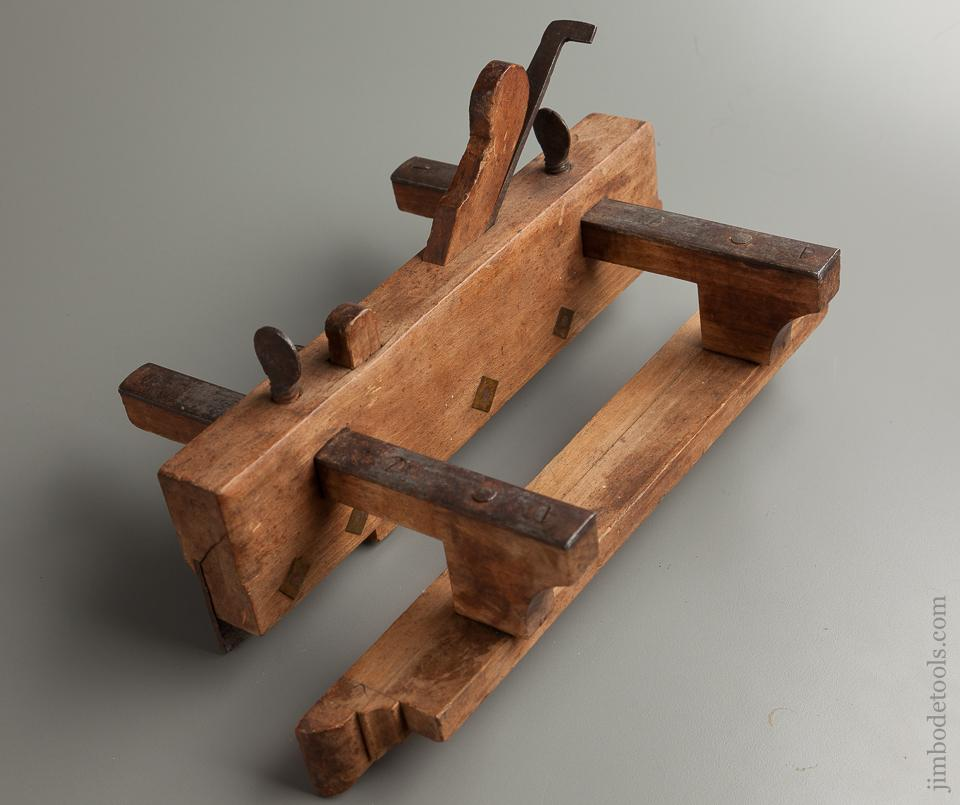 Awesome! 11 1/2 inch 18th Century Plow Plane by R. TRACY - 76275