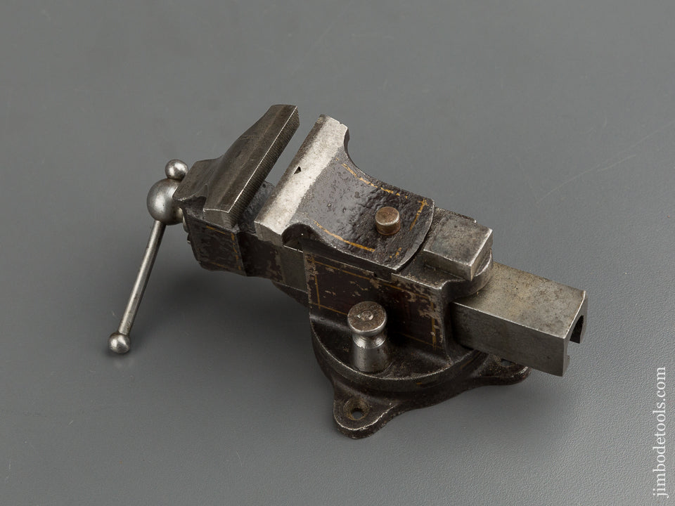 Extra FINE Miniature PRENTISS Vise with Original Paint and Pinstripes - 76664
