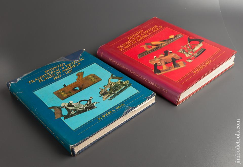 Two Books:  PATENTED TRANSITIONAL & METALLIC PLANES IN AMERICA VOLS I & II by Roger K. Smith - 76692