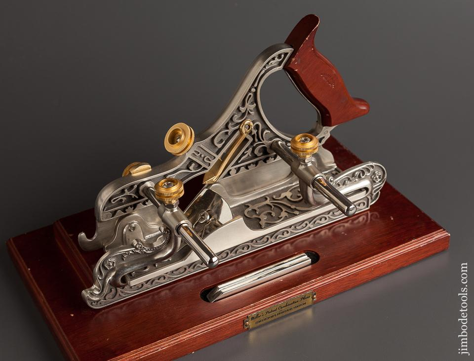 MILLERS PATENT STANLEY No. 41 Combination Plane Collector's Heritage Edition on Display Stand - 76926