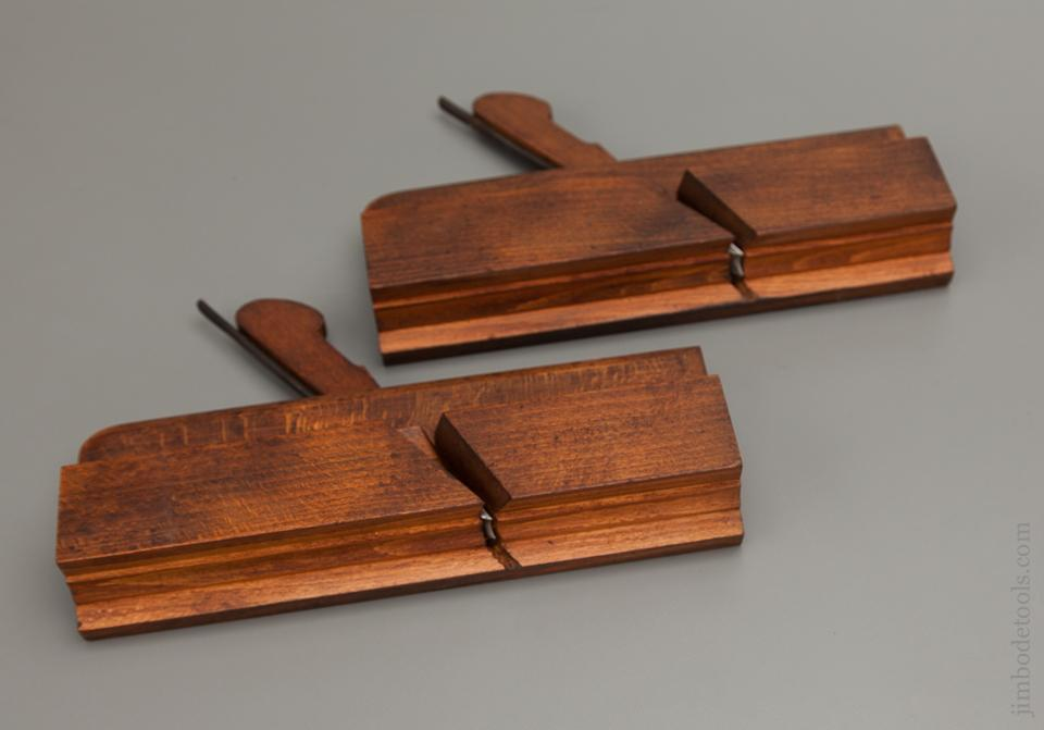 1st and 2nd Cut Sash Planes by GRIFFITHS NORWICH Matched Pair - 76944