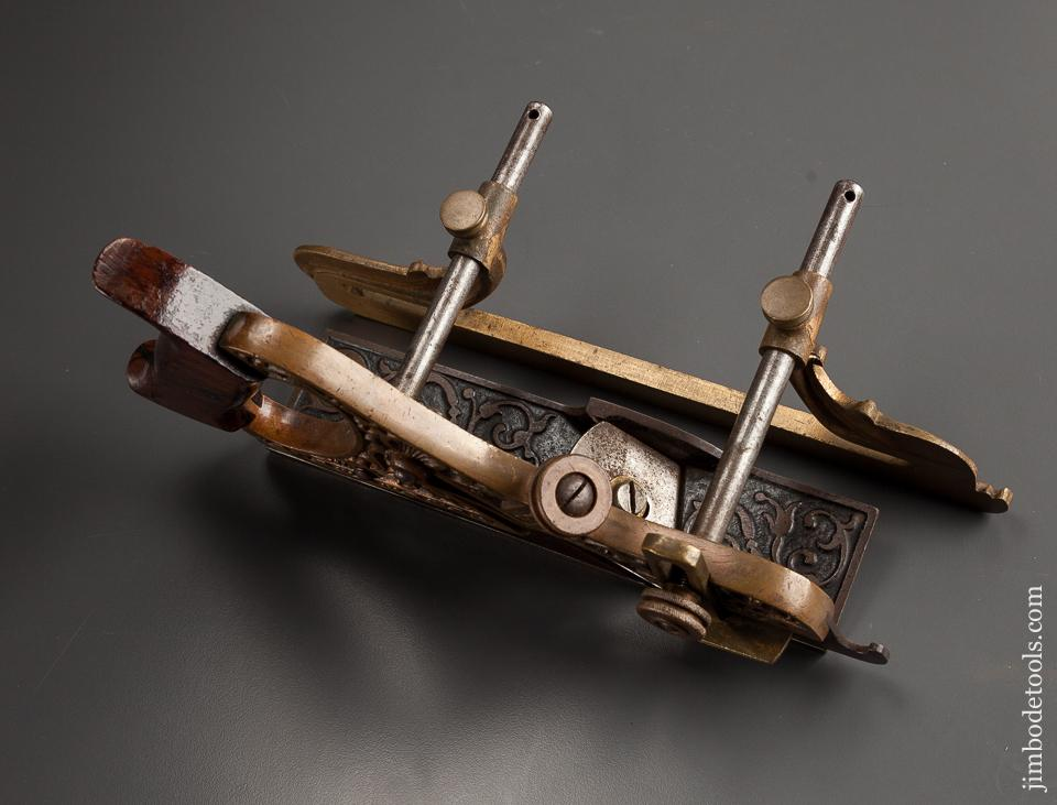 Fine! MILLERS Patent No. 42 Gunmetal Plow and Filletster Plane - 77240U