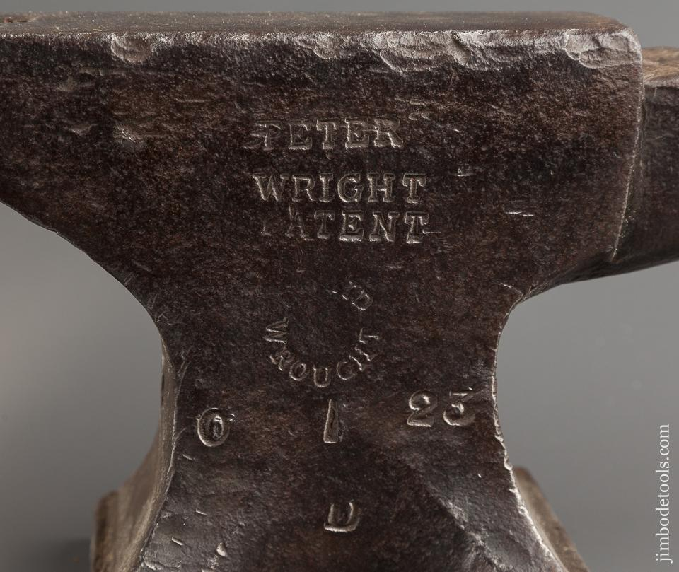 Giant! RARE Size 51 pound PETER WRIGHT Anvil - 77690