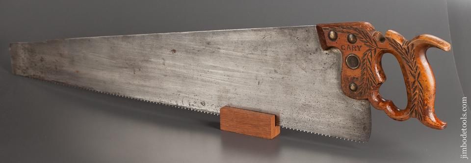 JUST SHARPENED 10 point 24 inch Crosscut DISSTON No  12 London Spring Hand  Saw - 77752