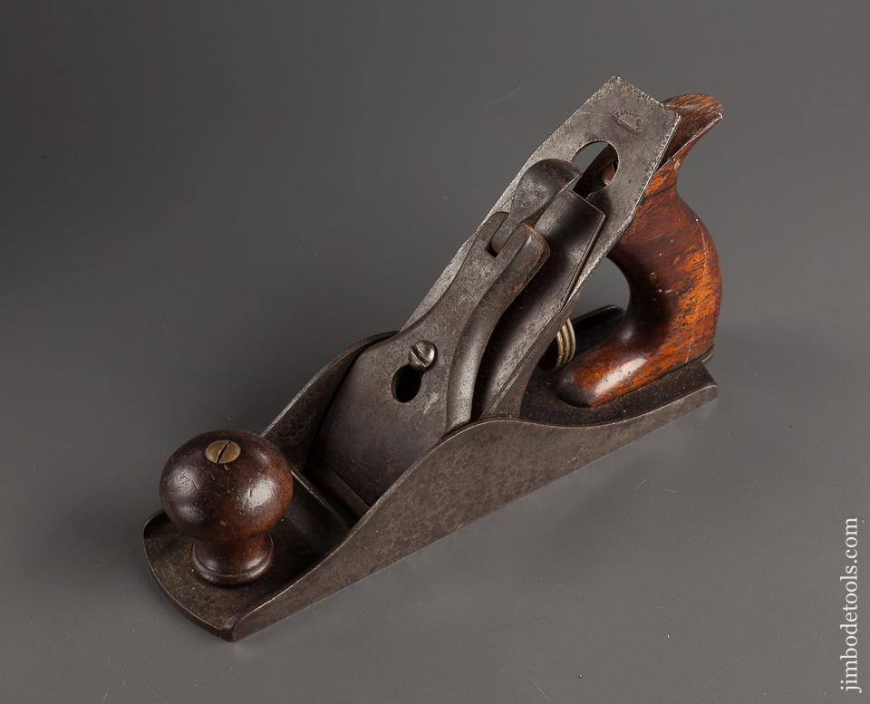 STANLEY No. 4 Smooth Plane Type 2 circa 1869-72 FLAWLESS - 77844