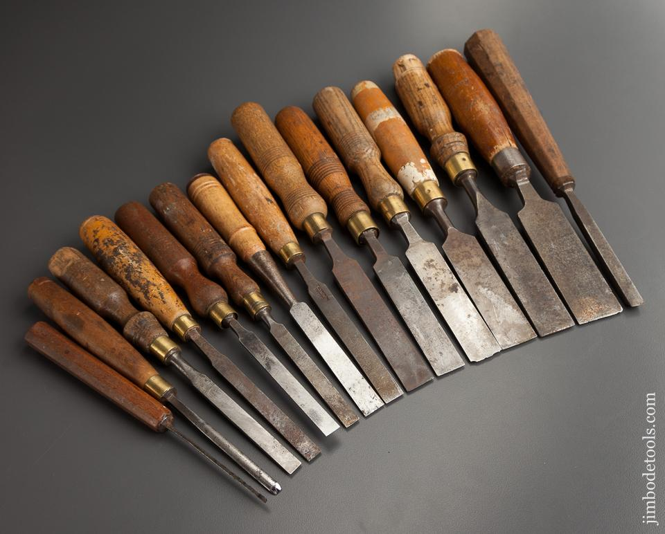 15 Assorted Chisels - 77858