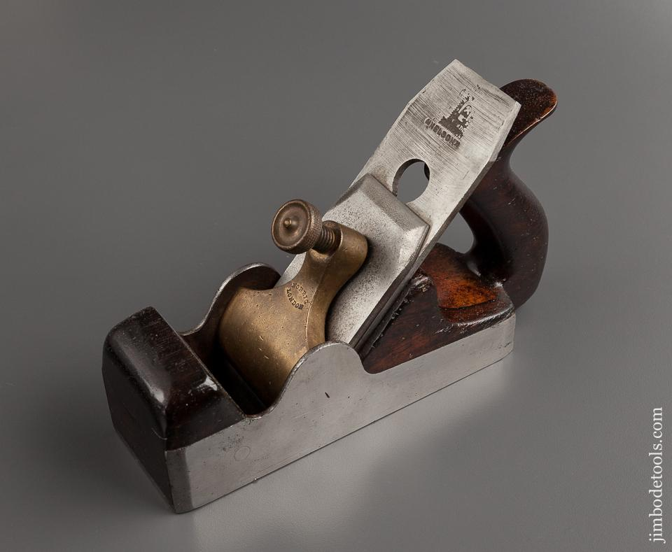 Fine! NORRIS No. 3 Dovetailed Steel and Rosewood Smoothing Plane - 77865R