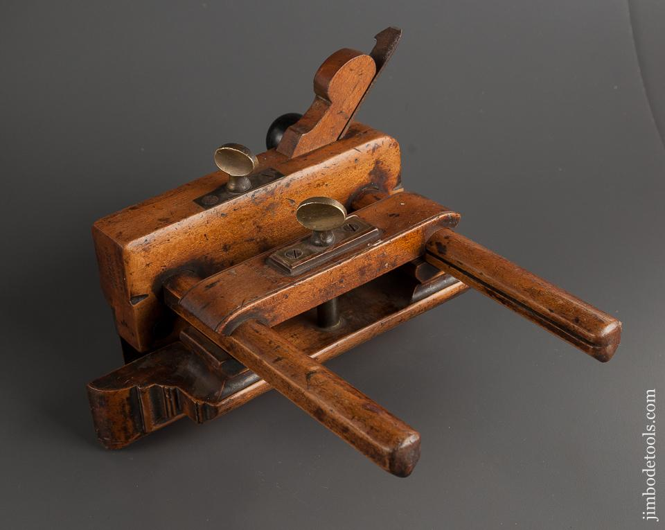 Rare and Fine! GRIFFITHS NORWICH Bridle Plough Plow Plane with Ebony Side Handle circa 1803-1958 FINE - 77941