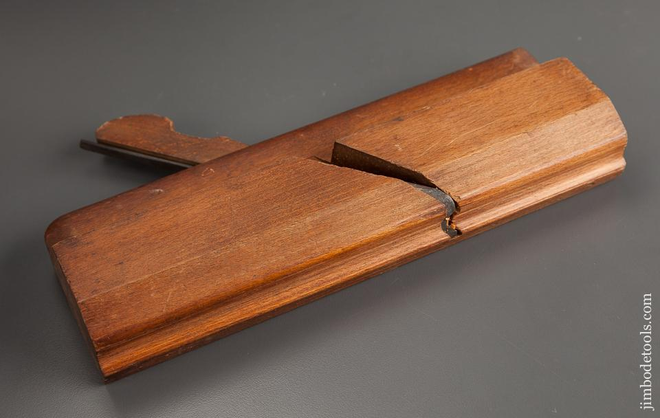A.G. MOORE Molding Plane with Unusual Profile circa 1853-61 GOOD+ - 77993