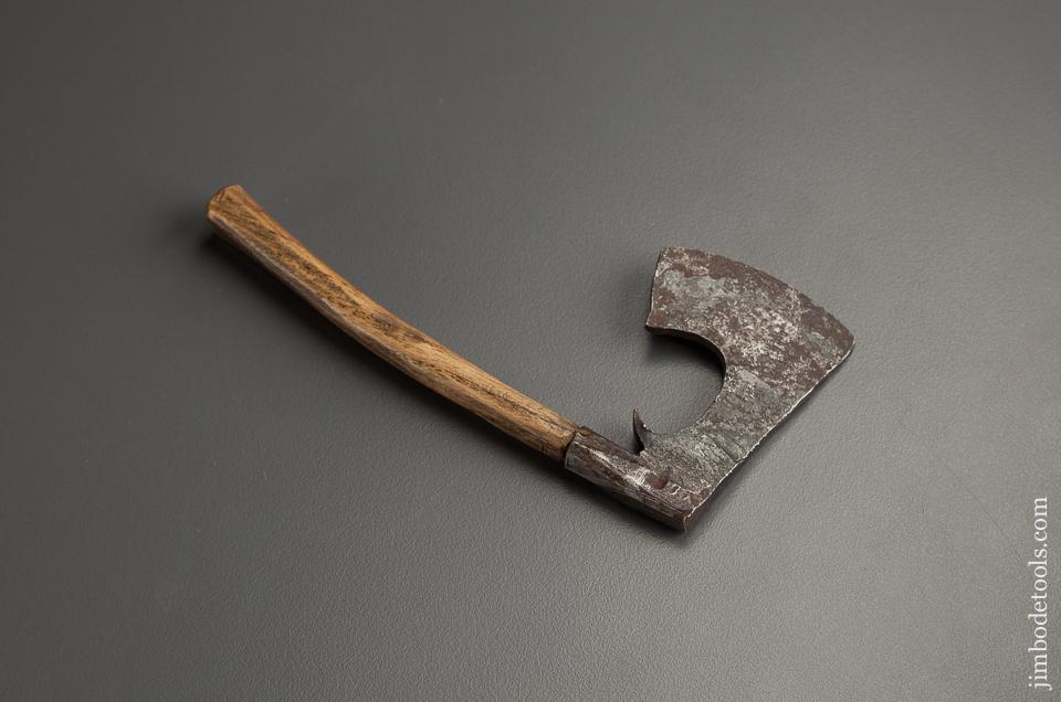 Miniature 18th Century French 4 3/4 inch Hewing Axe - 78087RU