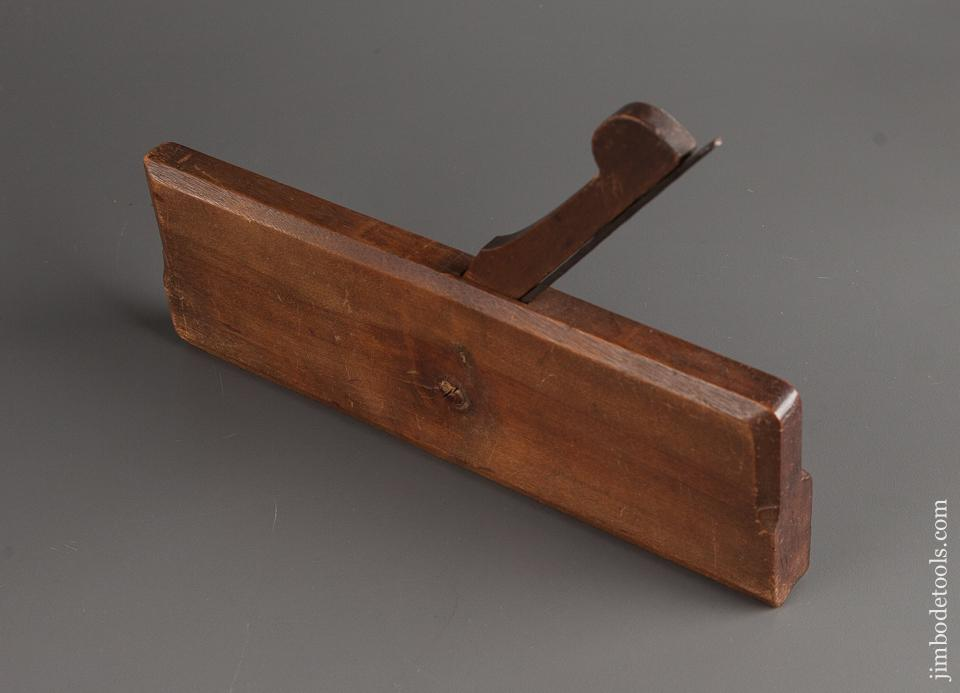 Crisp 18th Century CHELOR Ten inch Yellow Birch Moulding Plane NEAR MINT - 78095RU