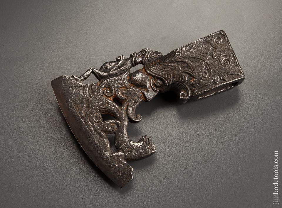 16th Century Italian or German Figural Battle Axe - EXCELSIOR 78099
