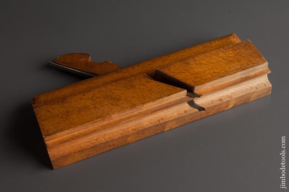 UNUSED 5/8 inch M. CRANNELL ALBANY Side Bead Molding Plane circa 1843-78 EXTRA FINE - 78143