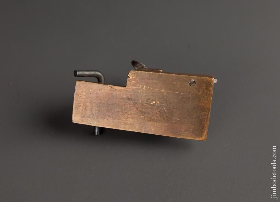 Interesting 3 5/8 x 1 1/2 inch Brass Plane - 78233R