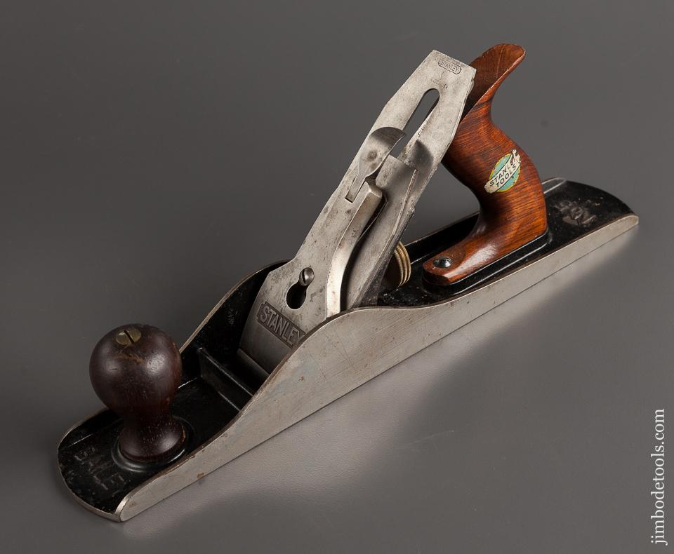STANLEY No. 5C Jack Plane Type 13 circa 1925-28 with Decal SWEETHEART - 78343