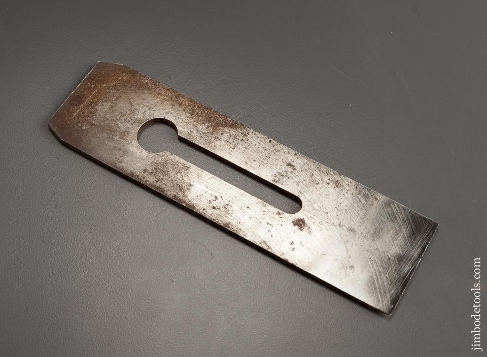 Thick Heavy Parallel Plane Iron by ROBT SORBY for Infill Planes 2 1/8 inch Wide - 78350