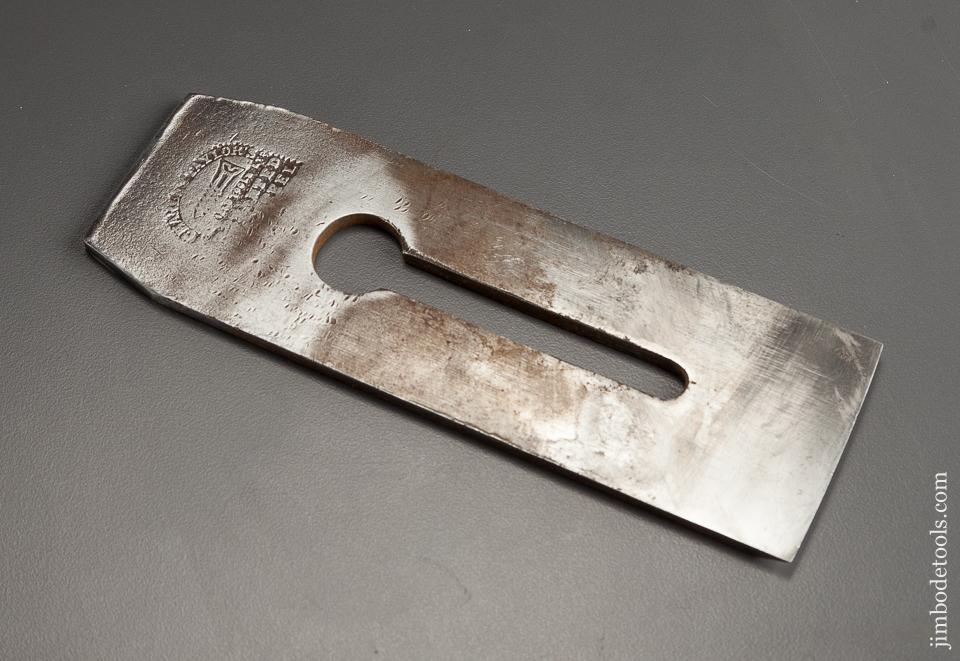 Thick Heavy Parallel Plane Iron by CHARLES TAYLOR for Infill Planes 2 1/4 inches Wide - 78353