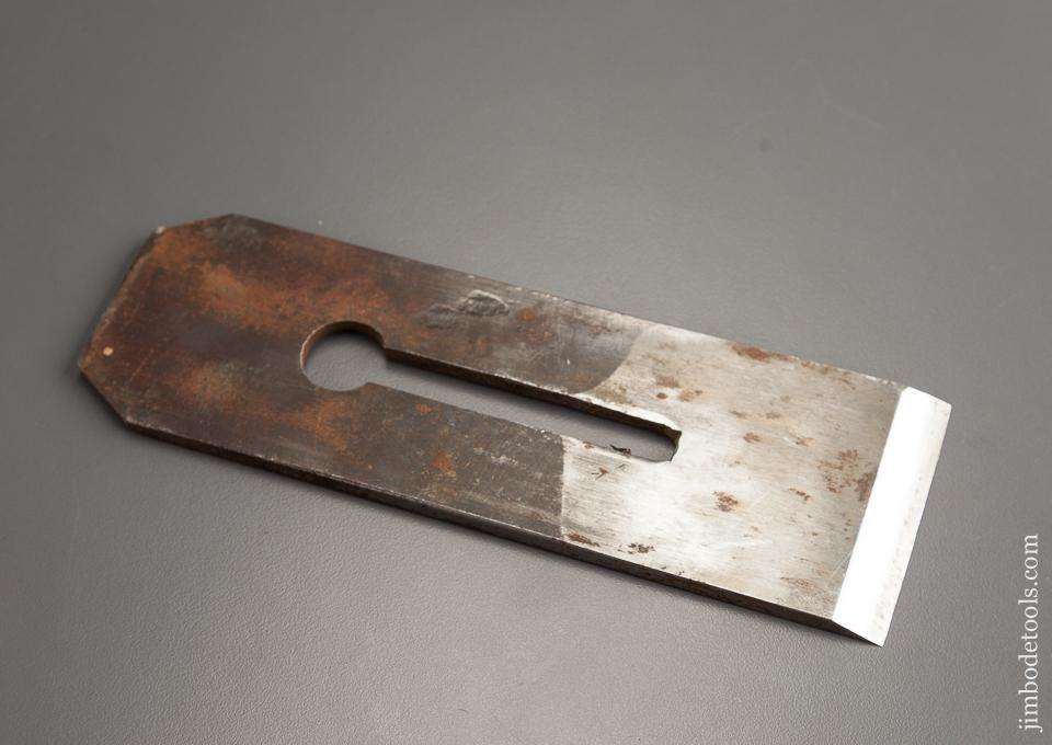 Thick Heavy Parallel Plane Iron by I. SORBY for Infill Planes 2 1/2 inches Wide - 78361