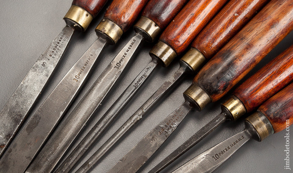 28 Spectacular ADDIS Carving Chisels and Gouges - 78433