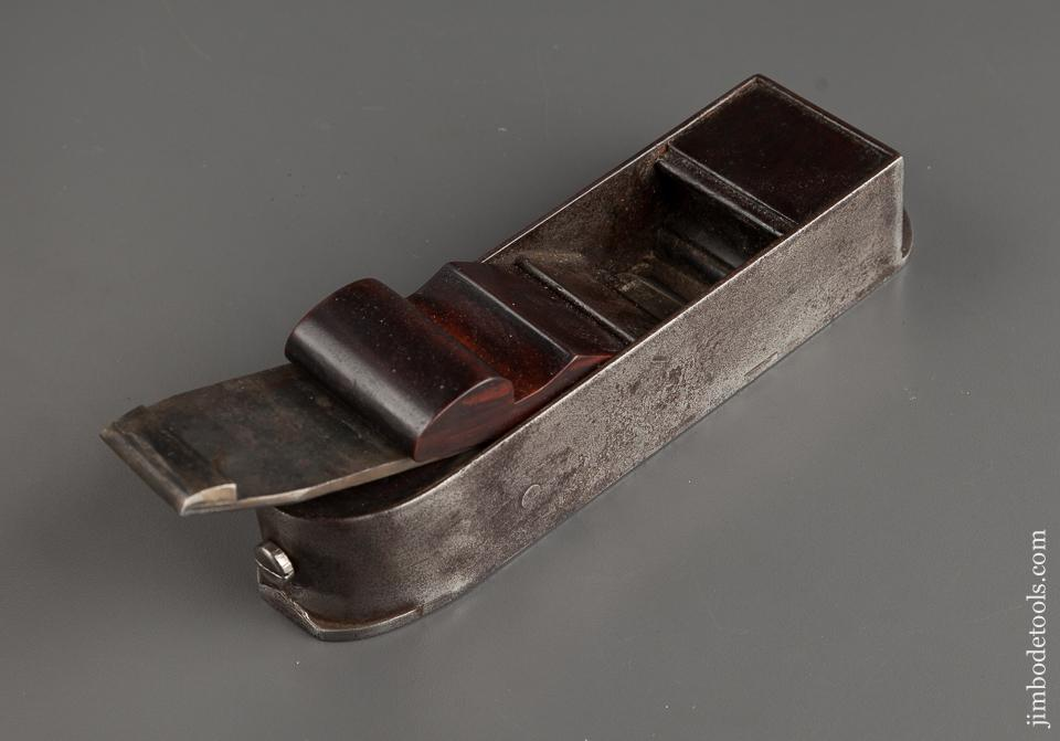 Fabulous Diminutive Dovetailed Steel Infill Miter Plane - 78524U