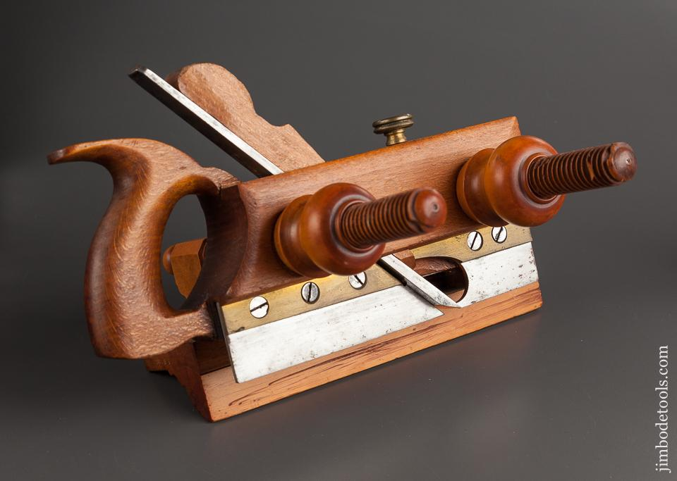 Beech Plow Plough Plane by A. HOWLAND & CO NY circa 1869-74 EXTRA FINE - 78602