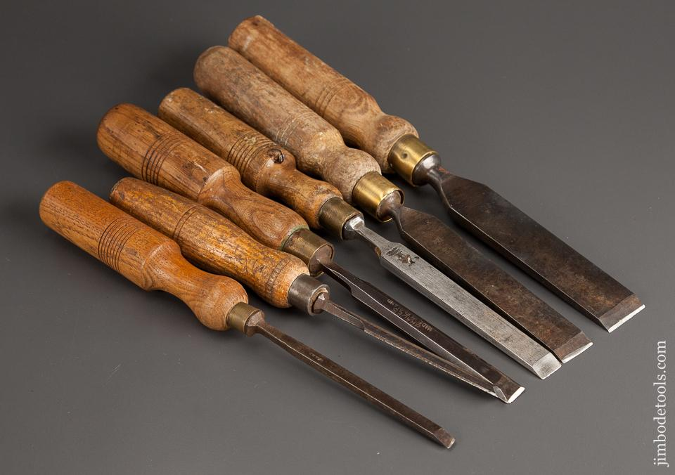 Set of Six Chisels - 78662