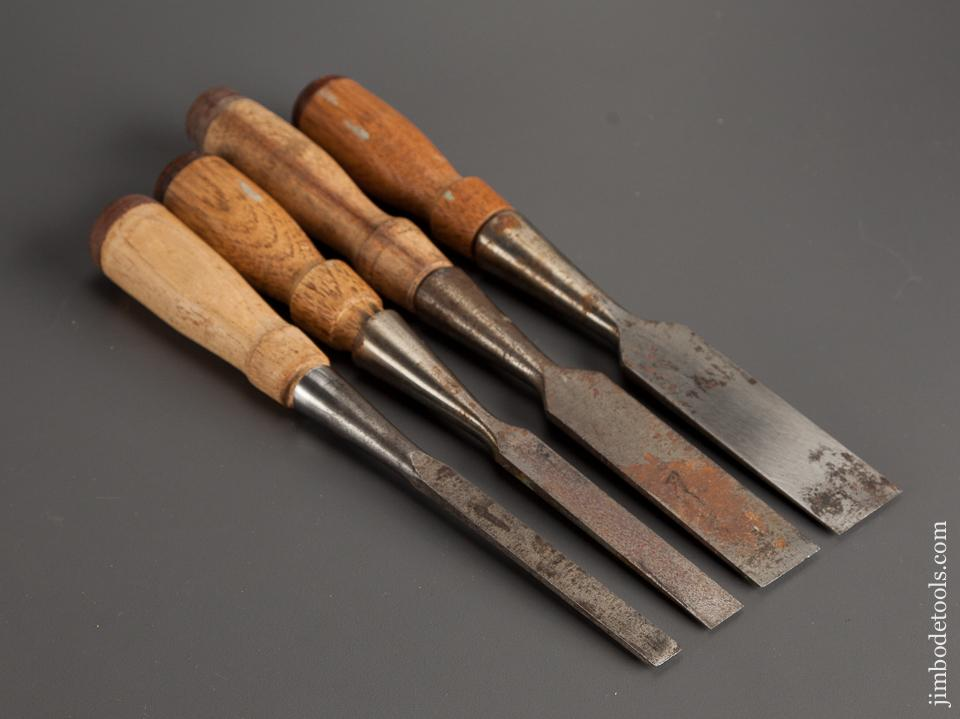 Fine Set of Four STANLEY Socket Chisels - 78671