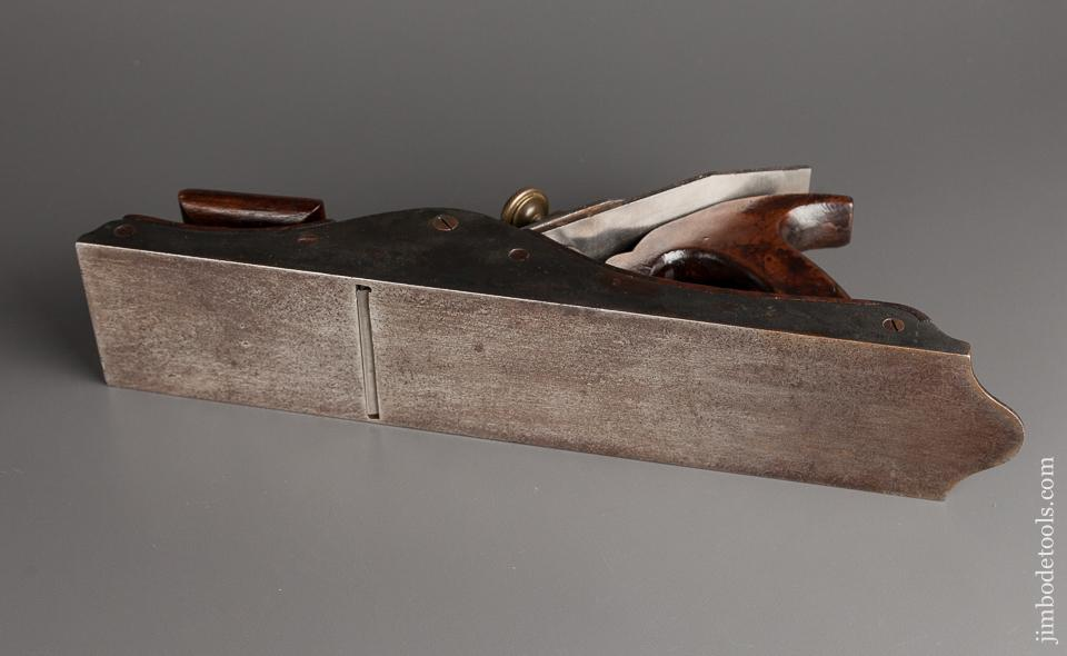 Graphic and Lovely Scottish Infill Panel Plane with Walnut Infill - 78676