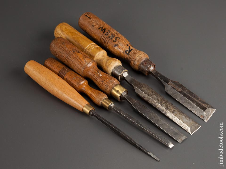 User Set of Five Tang Chisels - 8688