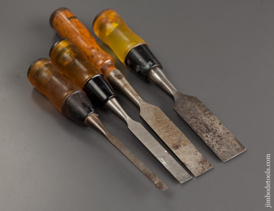 Four STANLEY Chisels - 78689