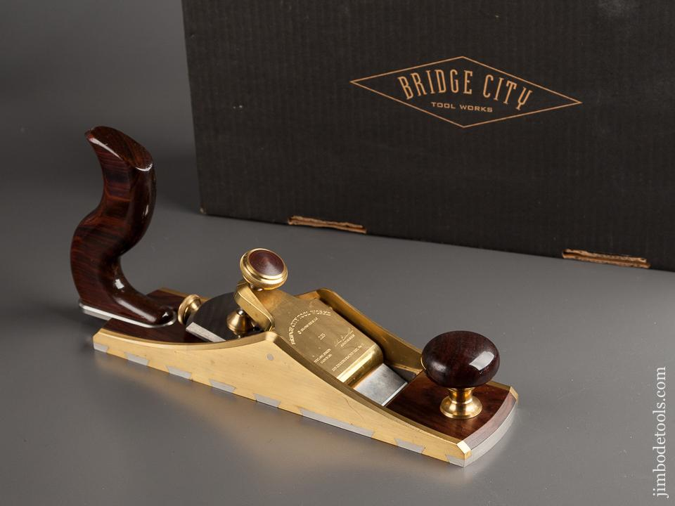 2003 BRIDGE CITY TOOL WORKS CT-11 Twelve Degree Low Angle Smoothing Plane NEAR PERFECT in Original Box - 78708