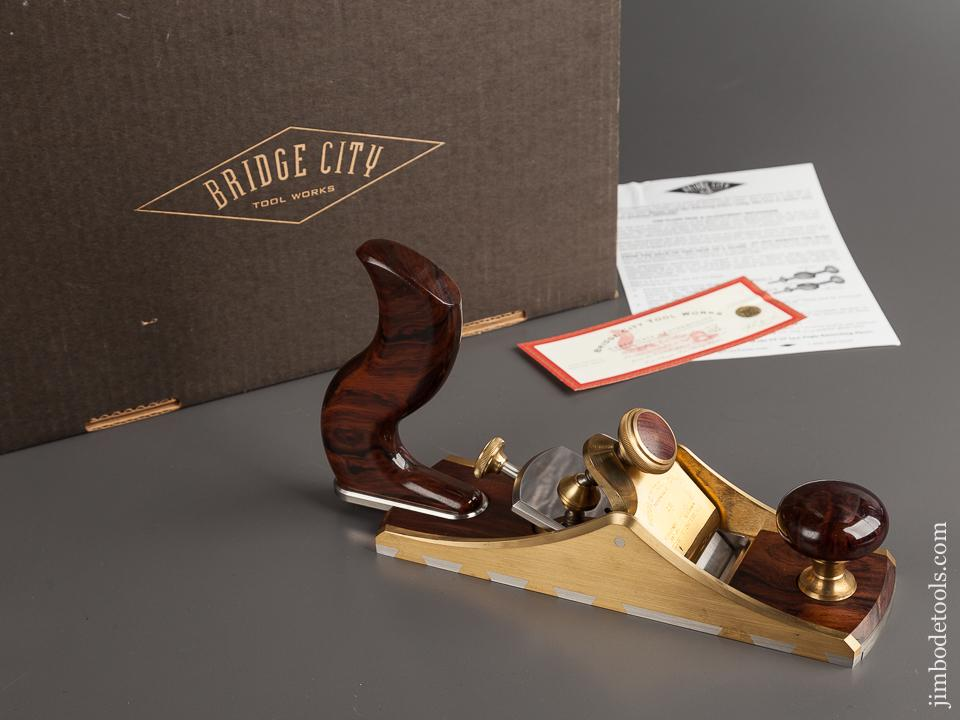 BRIDGE CITY TOOL WORKS CT-10 Low Angle Smoothing Plane in Original Box - 78733