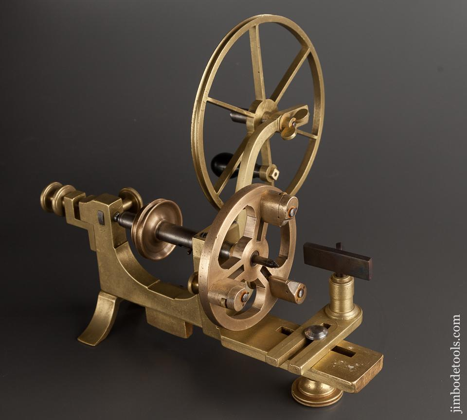 Lovely Brass and Ebony Watchmaker's Lathe - 78767