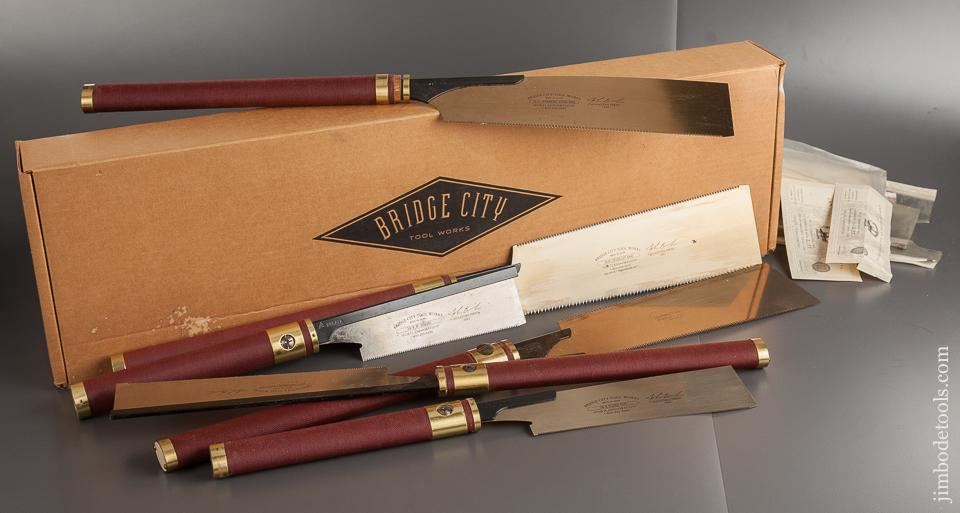 Six BRIDGE CITY TOOL WORKS Japanese Saws MINT & UNUSED in Original Box! - 78812