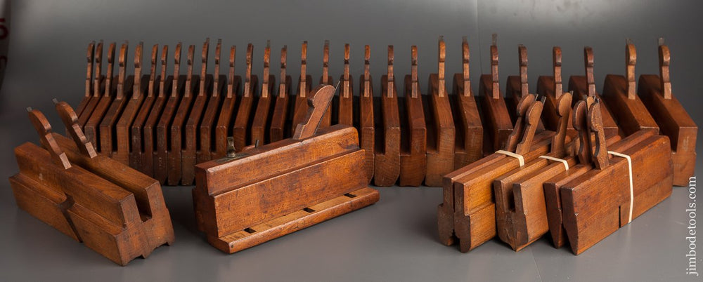 Set of 39 Planes by HIELDS NOTTINGHAM circa 1830-81 - 78844