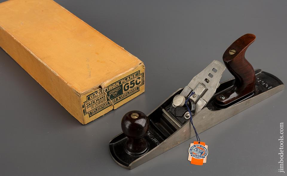 Dead Mint! GAGE No. G5C Jack Plane UNUSED in Original Box with Tag! - 78866